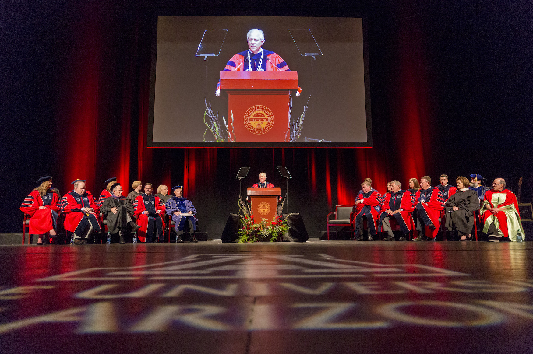 Dr. Robbins gives his Installation address